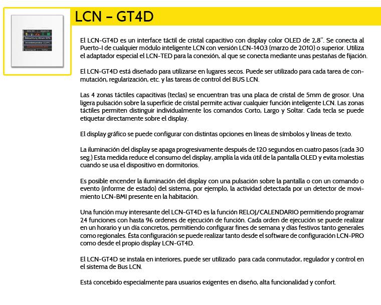 LCN-GT4D